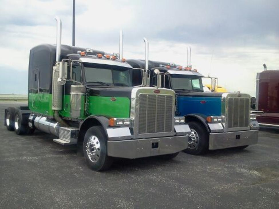 used peterbilt flat top trucks for sale by owner autos post. Black Bedroom Furniture Sets. Home Design Ideas