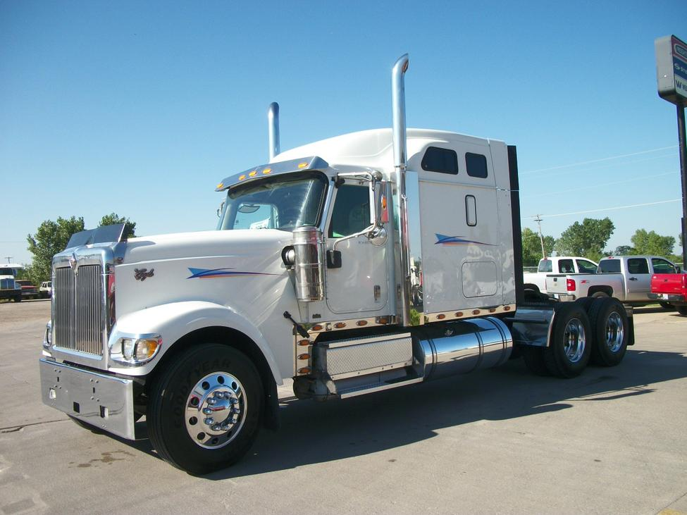 International Prostar Sleeper Truck International Prostar