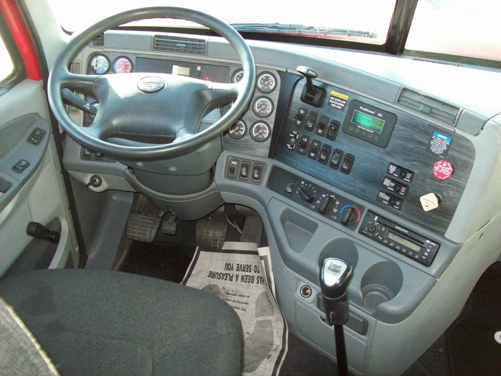 Used 2009 freightliner cl120 for sale truck center - 2007 freightliner columbia interior ...